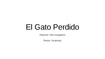 CI Story - El Gato Perdido PPT