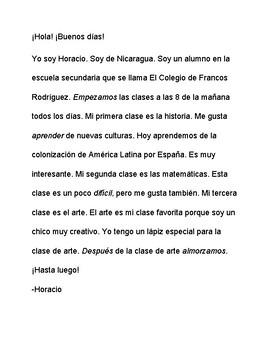 CI Story La Escuela