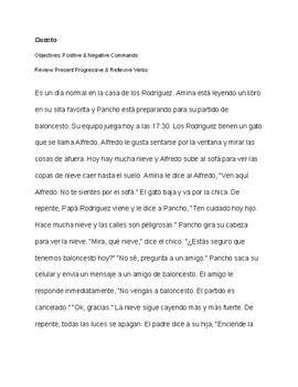 CI Story Tú Commands