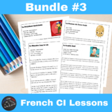 CI Video for French learners - Bundle #3