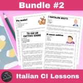 Comprehensible Input Videos for Italian - Bundle #2