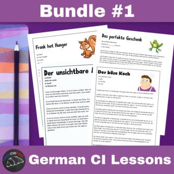CI Video for German learners - Bundle #1