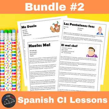 CI Video for Spanish learners - Bundle #2