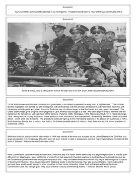 CIA Coup in Guatemala