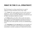 CIA Strategy for Unfamiliar Vocabulary