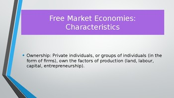 CIE AS Level Economics different economic systems / transition economies PPTs
