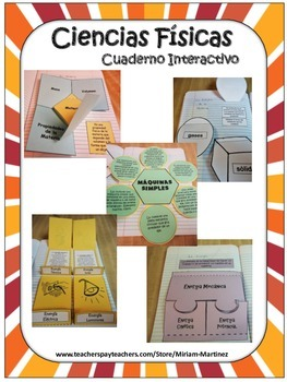 CIENCIAS FISICAS. CUADERNO INTERACTIVO / PHYSICAL SCIENCE SPANISH INB