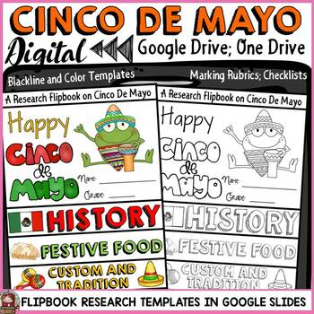 CINCO DE MAY: DIGITAL RESEARCH REPORT FLIPBOOK: GOOGLE DRIVE: GOOGLE CLASSROOM
