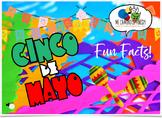CINCO DE MAYO - 10 Fun Facts! (Spanish Boom Cards!)  DISTANCE LEARNING!