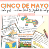 CINCO DE MAYO SCAVENGER HUNT ACTIVITY