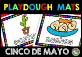 CINCO DE MAYO ACTIVITIES KINDERGARTEN (FIESTA PLAYDOUGH MATS)