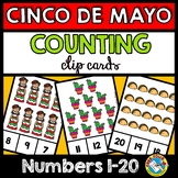 CINCO DE MAYO ACTIVITY KINDERGARTEN (COUNTING TO 20 PRACTI