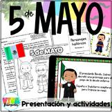 Actividades del Cinco de Mayo   5 de Mayo Spanish Activities
