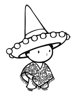 Cinco De Mayo Coloring Pages | Coloring pages, Love coloring pages ... | 350x270