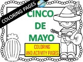 CINCO DE MAYO- Coloring pages and games