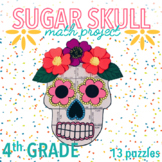 CINCO DE MAYO / DIA DE LOS MUERTOS ACTIVITY - SUGAR SKULL FOURTH GRADE