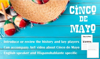 CINCO DE MAYO - Introduction/Review Video Guide