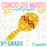 CINCO DE MAYO MATH ACTIVITIES - FIFTH GRADE MARACA