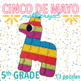 CINCO DE MAYO MATH ACTIVITIES - FIFTH GRADE piñata