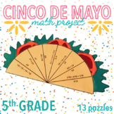 CINCO DE MAYO MATH ACTIVITIES - TACO FIFTH GRADE