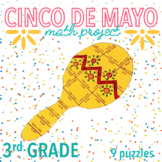 CINCO DE MAYO MATH ACTIVITIES - THIRD GRADE MARACA