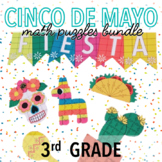 CINCO DE MAYO MATH ACTIVITIES - THIRD GRADE PROJECT BUNDLE