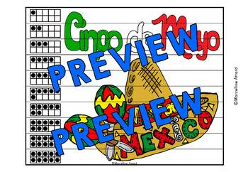CINCO DE MAYO MATH CENTER (CINCO DE MAYO KINDERGARTEN NUMBER SENSE PUZZLES)