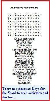 CINCO DE MAYO WORD SEARCHES (Holidays, Social Studies, Printables, Activities)
