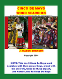 CINCO DE MAYO WORD SEARCHES (Holidays, Social Studies, Printables, Activities)