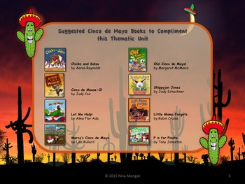 CINCO de MAYO Literacy and Math Printable Activities NO PREP!! BONUS Bookmarks!!