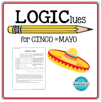 CINCO de MAYO Logic Puzzle
