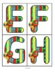 CINCO de MAYO Large Alphabet Letters Flashcards FREE