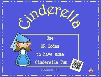 CINDERELLA FUN w/ QR CODES & LINKS (FACT OR FICTION) Listening Center