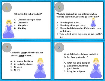 CINDERELLA by James Marshall--A SCOOT GAME