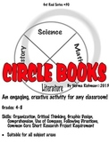 INTERACTIVE NOTEBOOKS. ENGAGING! PROJECT-BASED CIRCLE BOOKS!  COMMON CORE SKILLS