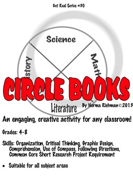 INTERACTIVE NOTEBOOKS. ENGAGING! PROJECT-BASED CIRCLE BOOK