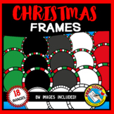 CHRISTMAS CLIPART FRAMES AND BORDERS (CIRCLE)