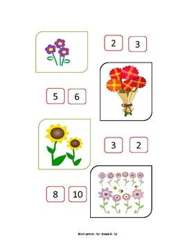 MATCHING NUMBERS IDENTIFICATION