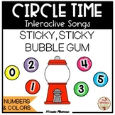 CIRCLE TIME - Interactive Song {Sticky, Sticky Bubble Gum}