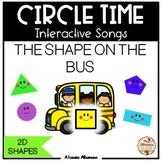 CIRCLE TIME - Interactive Song {The Shape on the Bus}