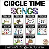 CIRCLE TIME - Interactive Songs BUNDLE