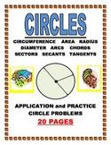 CIRCLES-ANGLES-ARCS-CHORDS-SECANTS-TANGENTS