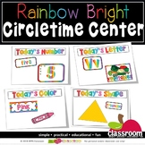 CIRCLETIME LEARNING CENTERS BUNDLE - RAINBOW BRIGHT