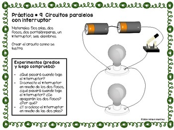 CIRCUITOS ELÉCTRICOS. PRÁCTICAS DE LABORATORIO / Electric circuits Spanish labs