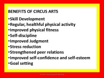 CIRCUS ARTS STATIONS K-5