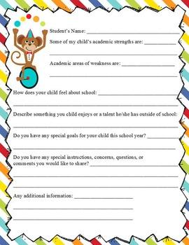 CIRCUS - Back to School Activity Pack , Classroom Economy, EDITABLE