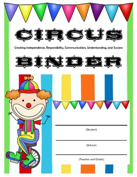 CIRCUS Binder Cover for Students