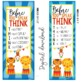 CIRCUS - Classroom Decor: LARGE BANNER, Before You Speak