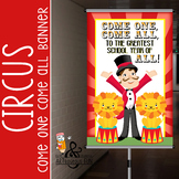 CIRCUS - Classroom Decor: MEDIUM BANNER, Come One, Come All