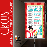 CIRCUS - Classroom Decor: SMALL BANNER, When You Enter ...